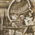 セルゲイ・チョーバン 建築ドローイング展 「凍てついた音楽の夢」